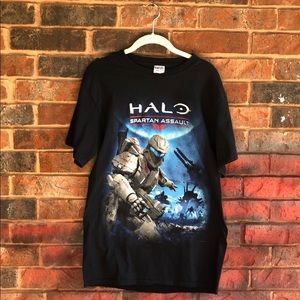 Men's Halo Gamer Graphic T-shirt